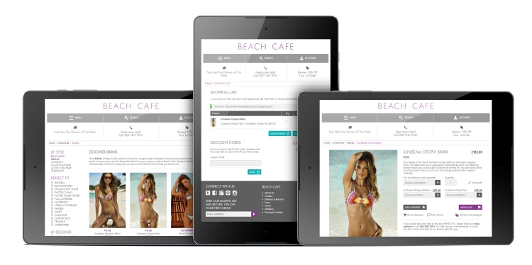 Functional Ecommerce Website